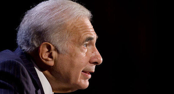 Carl Icahn tweeted that he and Apple Chief Executive Tim Cook would talk over dinner about the size of the company's stock buyback.
