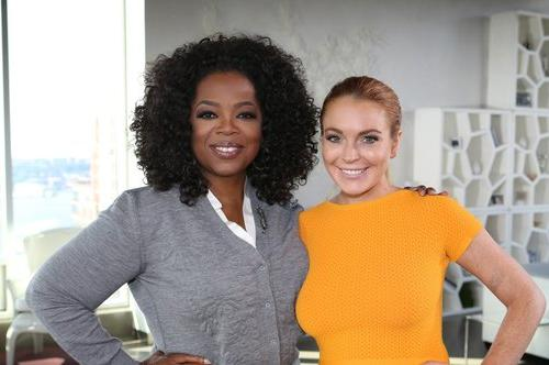 "Days after leaving rehab, the actress revealed her history of substance abuse in an interview with Oprah Winfrey. Lohan admitted to depending on substances including alcohol (which led to using cocaine) and Adderall. ""Being in my addiction and having all the chaos around me that I was so comfortable with, I somewhere inside knew and kind of wanted to go to jail,"" said a healthier-looking Lohan."