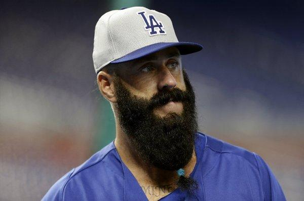 Brian Wilson's beard is apparently here to stay.