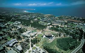 Aerial view of UC San Diego, which placed first in Washington Monthly rankings.