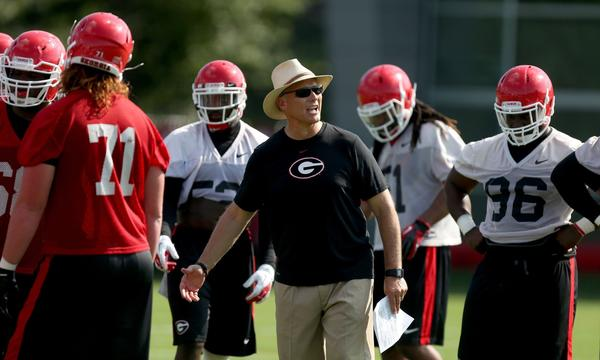 Georgia Coach Mark Richt is setting his sights on winning the BCS national championship.