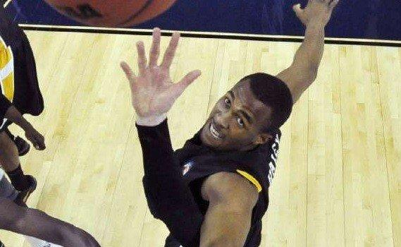 D.J. Haley, who reportedly is transferring to USC, goes for a rebound for Virginia Commonwealth during a Final Four semifinal matchup against Butler on April 2, 2011.