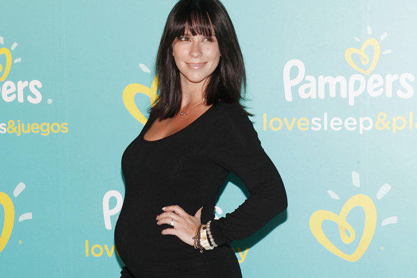 Jennifer Love Hewitt at the Pampers Love, Sleep & Play launch event in New York City on Wednesday.