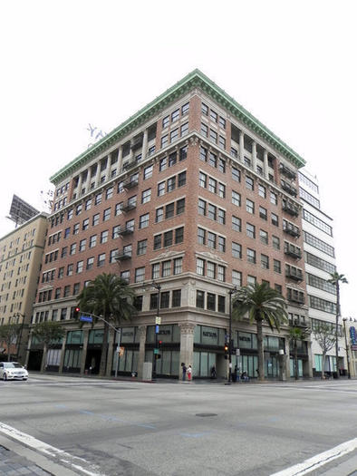 The Broadway Lofts at Hollywood Boulevard and Vine Street