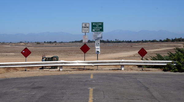 Pictured is the northern terminus of Pacific Avenue that borders Costa Mesa's Fairview Park. Much to the dismay of some residents, the Parks and Recreation Commission approved plans for a 10-space parking lot here that would be within the park. Councilwoman Sandy Genis says she plans to appeal the decision.