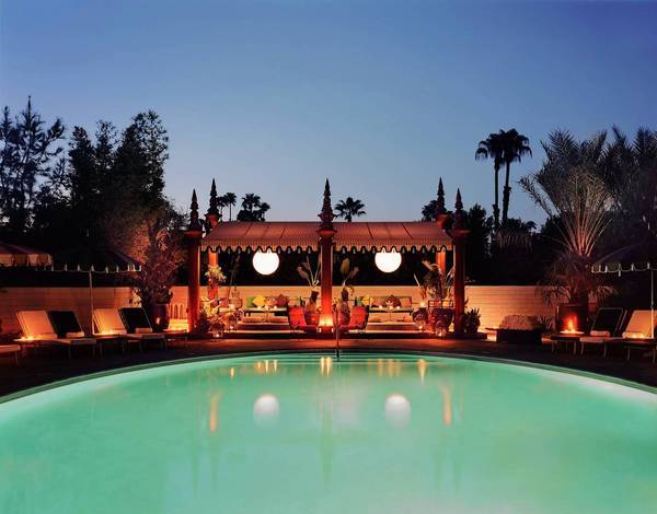 Parker Palm Springs will be the site of the weekend health retreat.