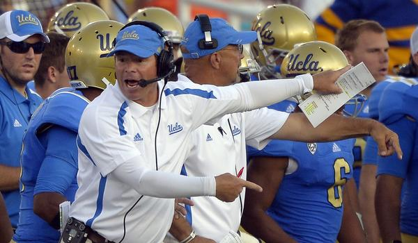 UCLA Coach Jim Mora knows freshmen will get playing time for the Bruins, but he still isn't sure how much of an impact they'll have on the team.