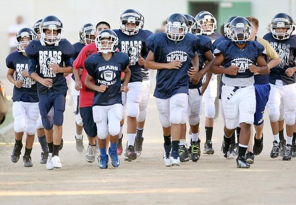 The Glendale Bears youth football team is hoping for a 2013 season filled with success, fun.