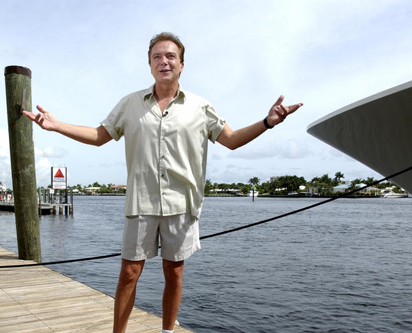 In Fort Lauderdale, David Cassidy is known to lead a quiet public life. Those neighbors who know him say he was sociable but low key. He is seen in this file photo from 2003 at Fort Lauderdale Marina Marriott, when he announced being grand marshal in that year's Winterfest Boat Parade.