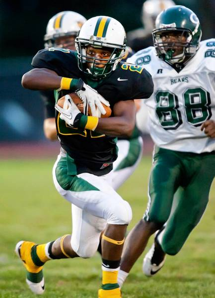 Running back Wyl Miller and the Green Hornets are picked to finish fifth in the LVC this season.