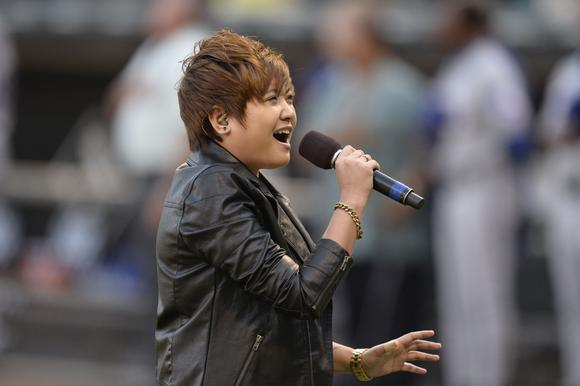 Charice at U.S. Cellular Field