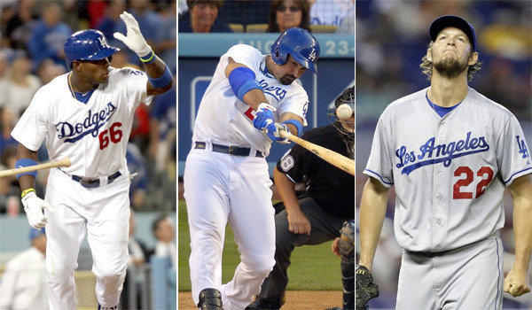 For the Dodgers, it's tough to pick an MVP, but Yasiel Puig, Adrian Gonzalez and Clayton Kershaw are certainly in the discussion, but they aren't the only ones.