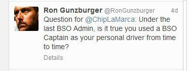 BSO general counsel Ron Gunzburger goes after a county commissioner