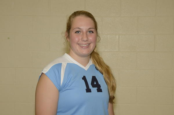 Petoskey senior Jayme Larson was named to the All-Tournament team Saturday at the Sault Ste. Marie Invitational.