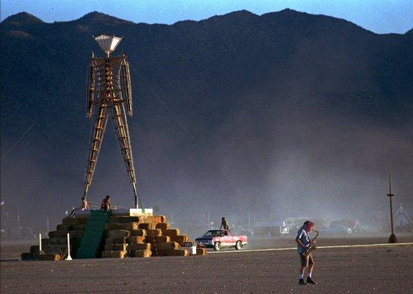 Silicon Valley empties out this week and denizens flock to the Burning Man festival in the Nevada desert.