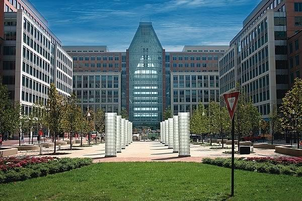 The U.S. Patent and Trademark Office in Arlington, Va.