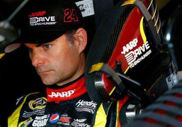 Jeff Gordon's Chase hopes are in big trouble.