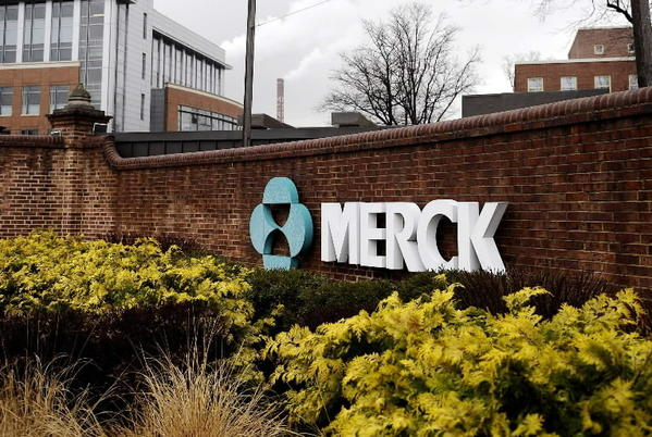 A view of the Merck & Co. campus in Linden, N.J.