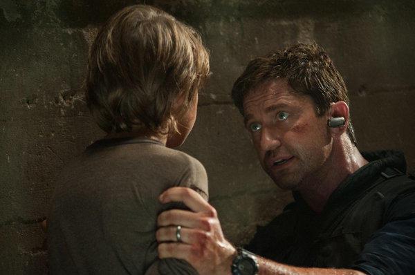 """Gerard Butler in """"Olympus Has Fallen."""""""