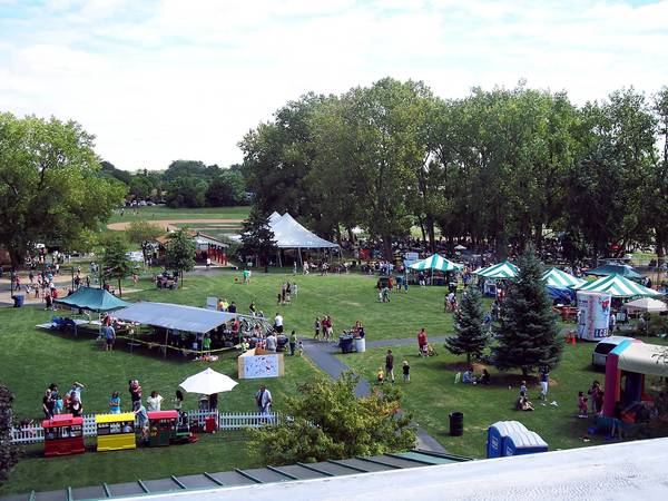 Food and fun are part of Oak Forest's annual picnic, which this year follows the parade.