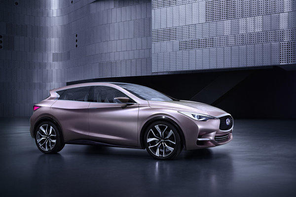 This stylized four-door concept deliberately challenges categorization, Infiniti said. Thus, it is part hatchback, part coupe, part crossover. It will debut at the 2013 Frankfurt Auto Show.
