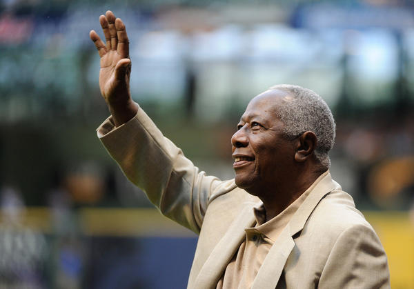 Hall of Famer Hank Aaron misses playing at Wrigley Field.