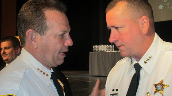 Sheriff Scott Israel and Undersheriff Steve Kinsey