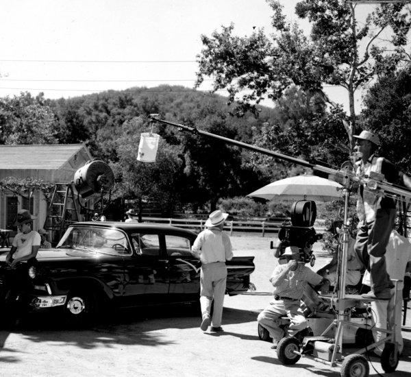 "Walt Disney Productions first leased the Golden Oak Ranch for filming in the late 1950s for ""The Adventures of Spin and Marty"" segments of ""The Mickey Mouse Club."""