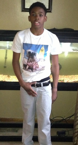 Deshaun Jones, 15, was killed in a weekend shooting.