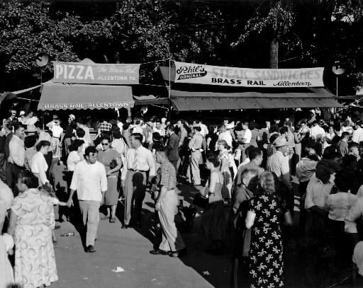 The Brass Rail at the Allentown Fair in 1951.