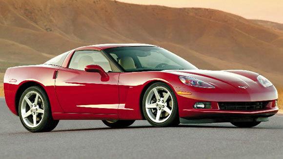 A 2005 Chevrolet Corvette