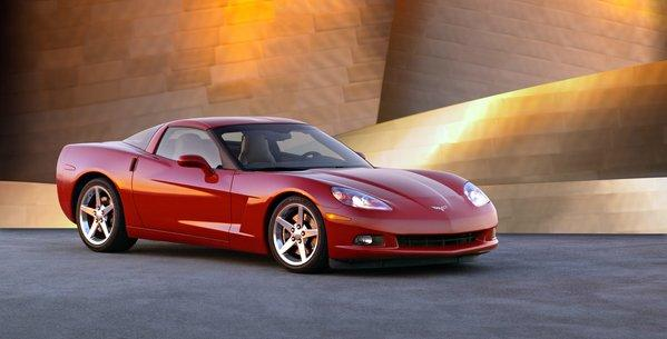 This 2005 Chevrolet Corvette is among the more than 100,000 examples from the 2005 to 2007 model year being investigated for faulty low-beam headlights.