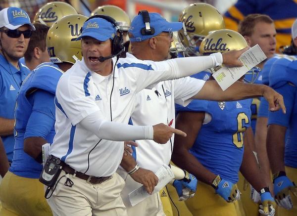 UCLA Coach Jim Mora