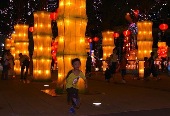 The Mid-Autumn Festival in Hong Kong takes place Sept. 19.