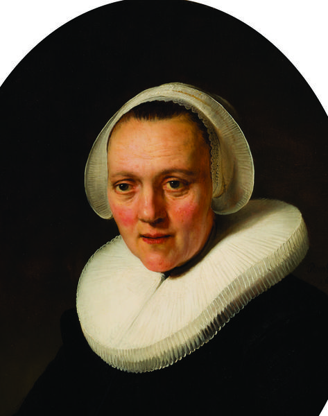 """Portrait of a Forty-Year-Old Woman, possibly Marretje Cornelisdr. van Grotewal"" was painted by Rembrandt van Rijn in 1634. (Collection of the Speed Art Museum) ""Portrait of a Forty-Year-Old Woman, possibly Marretje Cornelisdr. van Grotewal"" was painted by Rembrandt van Rijn in 1634. (Collection of the Speed Art Museum)"