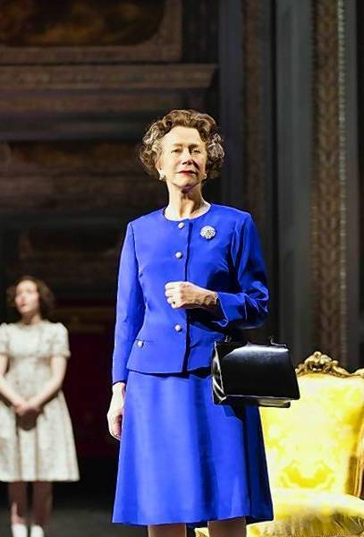 "Helen Mirren stars as Queen Elizabeth II in ""The Audience."""