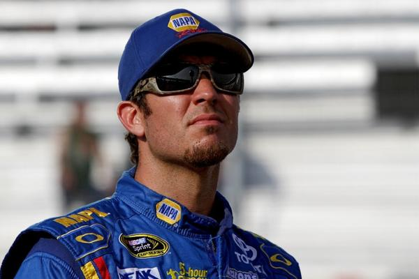 NASCAR driver Martin Truex Jr. broke his right wrist in a race last weekend.