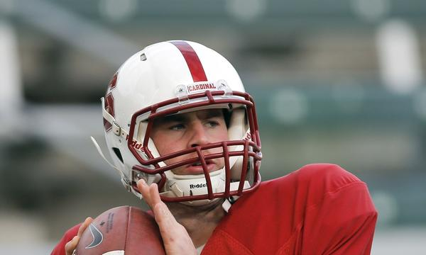 Stanford quarterback Kevin Hogan returns for the Cardinal after going 5-0 as a starter in 2012.