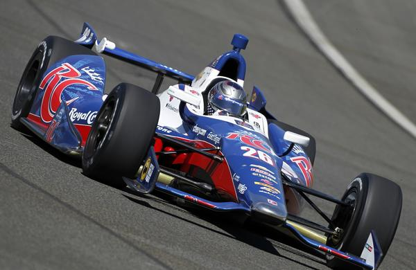 Marco Andretti will be among the IndyCar Series drivers who will take part in a testing session at Auto Club Speedway in September.