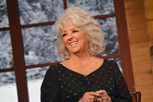 "Celebrity chef Paula Deen on the set of ""Masterchef."""