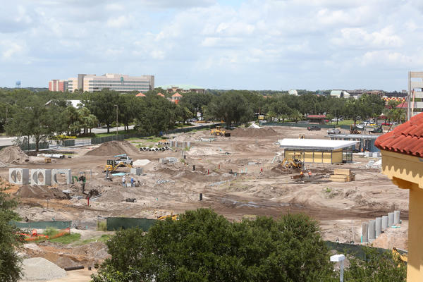 The magnitude of the projects underway on Orlando's International Drive is finally becoming clear: A half-mile long-stretch of the road is under construction.