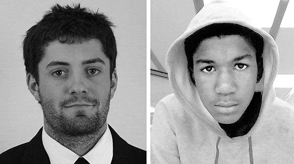 Australian college baseball player Chris Lane, left, and Florida teenager Trayvon Martin.