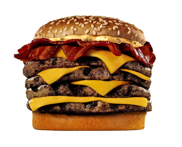 Are the U.S. fast-food industry's financials as unhealthy as this burger looks? Experts are split.