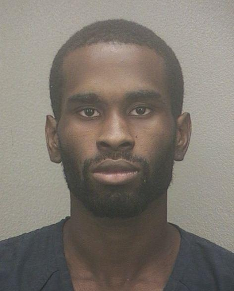 James Jaquine Blue, 19, was arrested and accused of burglary in Fort Lauderdale.