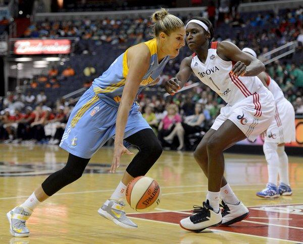 Rookie Elena Delle Donne has the Sky dreaming of a WNBA title.