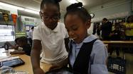 First iPads go out to LAUSD students