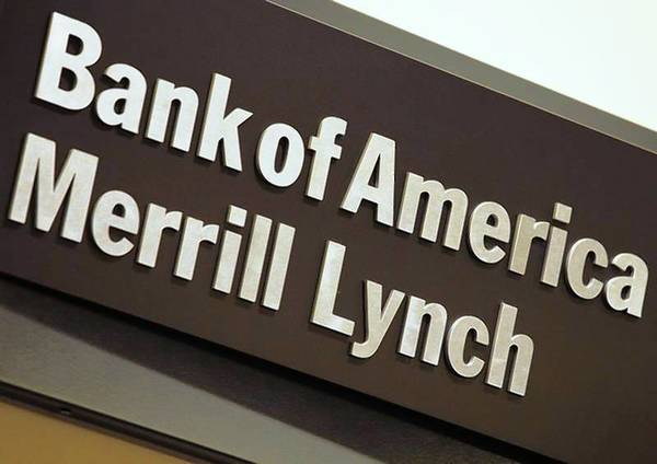 The company logo of the Bank of America and Merrill Lynch.