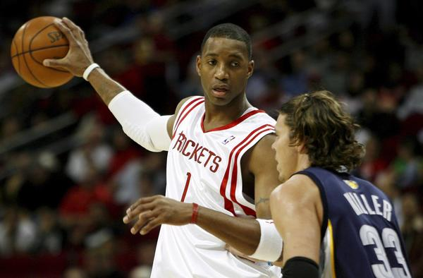 Tracy McGrady, shown with the Houston Rockets in 2007, retired Monday after 16 NBA seasons.