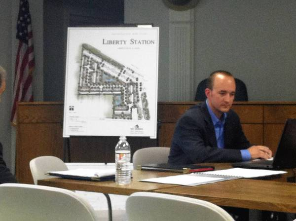 M/I Homes is proposing a development next to the Libertyville Metra Station that would bring 80 new townhomes to downtown Libertyville.