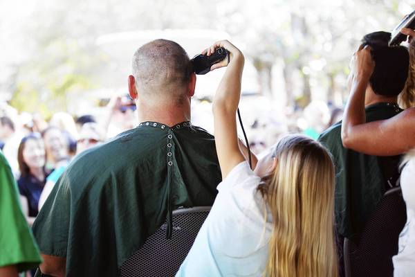 At the Bike Bald ride in Naperville on Sept. 29, participants will have the option of shaving their heads to support the St. Baldrick's Foundation, which raises money for children's cancer charities.